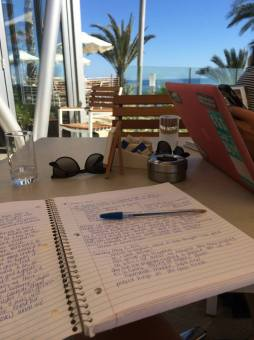 Studying!